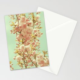 Sky Blue and Love Stationery Cards