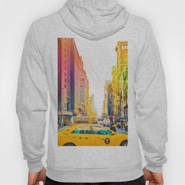 Colors of New York City Downtown Manhattan Hoody