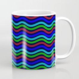 Abstract Aquatic Artwork Ocean Coffee Mug