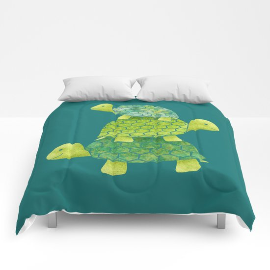 Turtle Stack Comforters