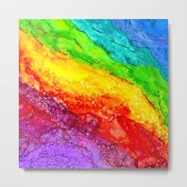 Color Flow #1 Metal Print