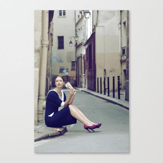 Paris Vintage 4 Canvas Print