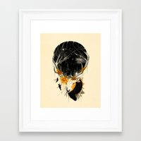 once upon a  time Framed Art Prints featuring Once Upon a Time by nicebleed