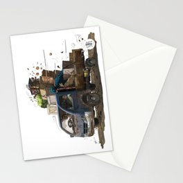 Loaded Truck Stationery Cards