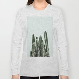 Blue Sky Cactus Long Sleeve T-shirt