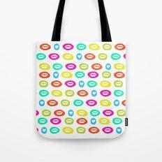 I love to kiss you Tote Bag