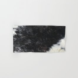 Holstein Cow Country Farmhouse Cowhide Graphic Hand & Bath Towel