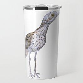 Suspicious Curlew Travel Mug
