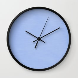 Alice Blue Streaky Hand Painted Watercolor Wall Clock