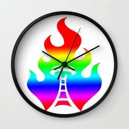 Seattle Riot | Love Wall Clock