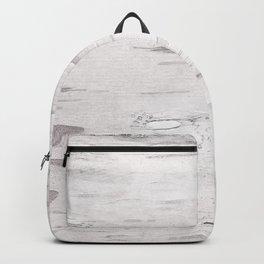 White Birch Wood Backpack