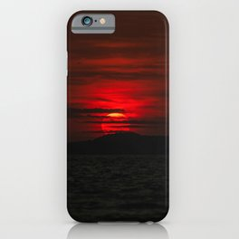 Ibiza Sunset iPhone Case