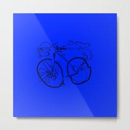10-Speed -- Blue Metal Print