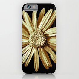 Dinged - yellow iPhone Case