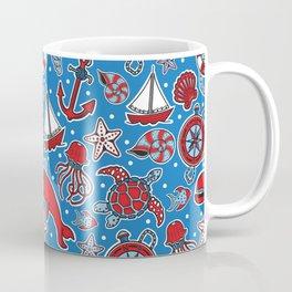 Sailing The Open Sea Coffee Mug