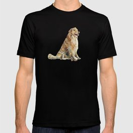 Happy Golden Retriever T-shirt