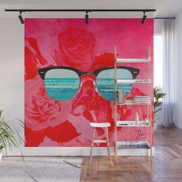 iSea Pink Wall Mural