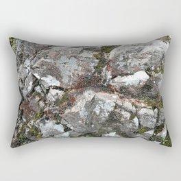 Beautiful Rock texture from Scotland. Rectangular Pillow