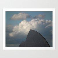 Opera Sail Art Print