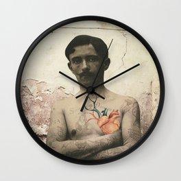 dermis_5 Wall Clock