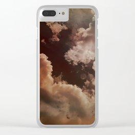 Dream Clouds Clear iPhone Case