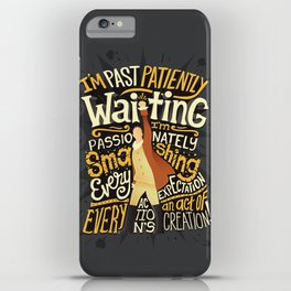 Smashing Every Expectation iPhone Case