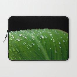 Macro Droplets Laptop Sleeve