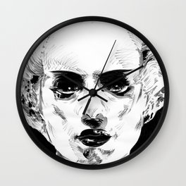 Elsa as the Bride Wall Clock