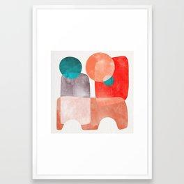 Bridge #abstract #painting Framed Art Print