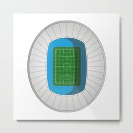 Football Stadium Metal Print