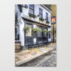 The Mayflower Pub London Canvas Print