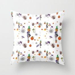 Tricks& Treats Throw Pillow