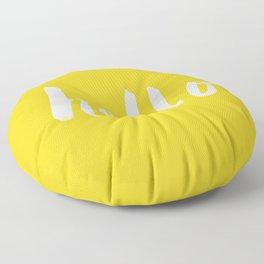 Hello x Sunshine Script Floor Pillow
