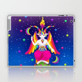 1997 Neon Rainbow Baphomet Laptop & iPad Skin