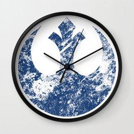 Rebel Alliance (Blue) Wall Clock