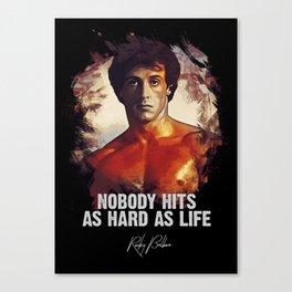 Rocky Balboa - Sylvester Stallone Canvas Print