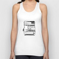 polaroid Tank Tops featuring polaroid by brittcorry