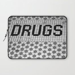 DRUGS Tiled Pharmacy Doorstep Laptop Sleeve