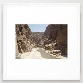 Mujib Framed Art Print