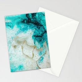 """Tides of Change   """"Sand Bar"""" (4) Stationery Cards"""