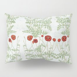 A reminder of past poppies Pillow Sham