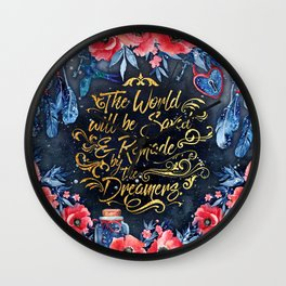 Saved by the Dreamers Wall Clock