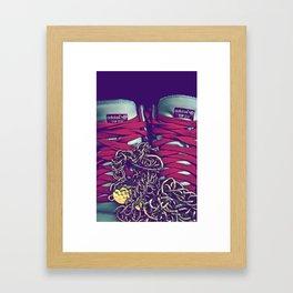 Liu Kang (Kicks) [Color] Framed Art Print