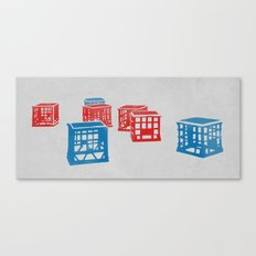 Crates  Canvas Print