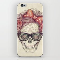 Hipster Girl is Dead iPhone & iPod Skin