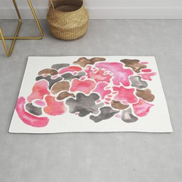 Creative Expression 17  | Abstract Shapes Drawing | Abstract Shapes Art| Watercolor Painting | Rug