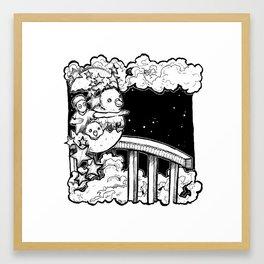 Dream: New Year Framed Art Print