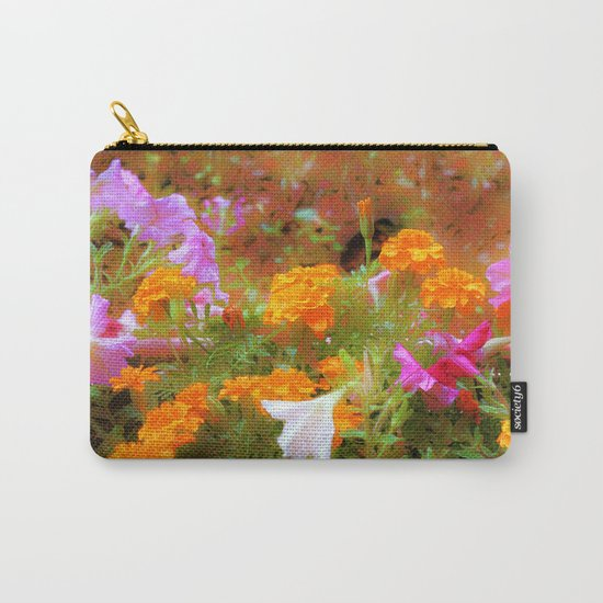 Every little garden seems to whisper a tune Carry-All Pouch