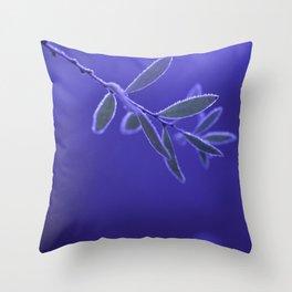 BLUEFROST Throw Pillow
