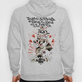 NINETY NINE RED-blinky bill Hoody